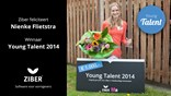 Nienke Flietstra wint Young Talent Award 2014 - student Mediacollege Amsterdam